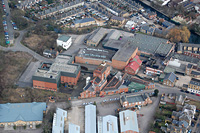 Photo of Hertford Brewery from the air