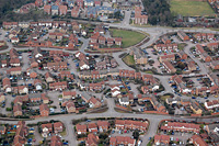 Photo of The Foxholes Estate from the air