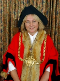 Photo of the mayor, Sally Newton