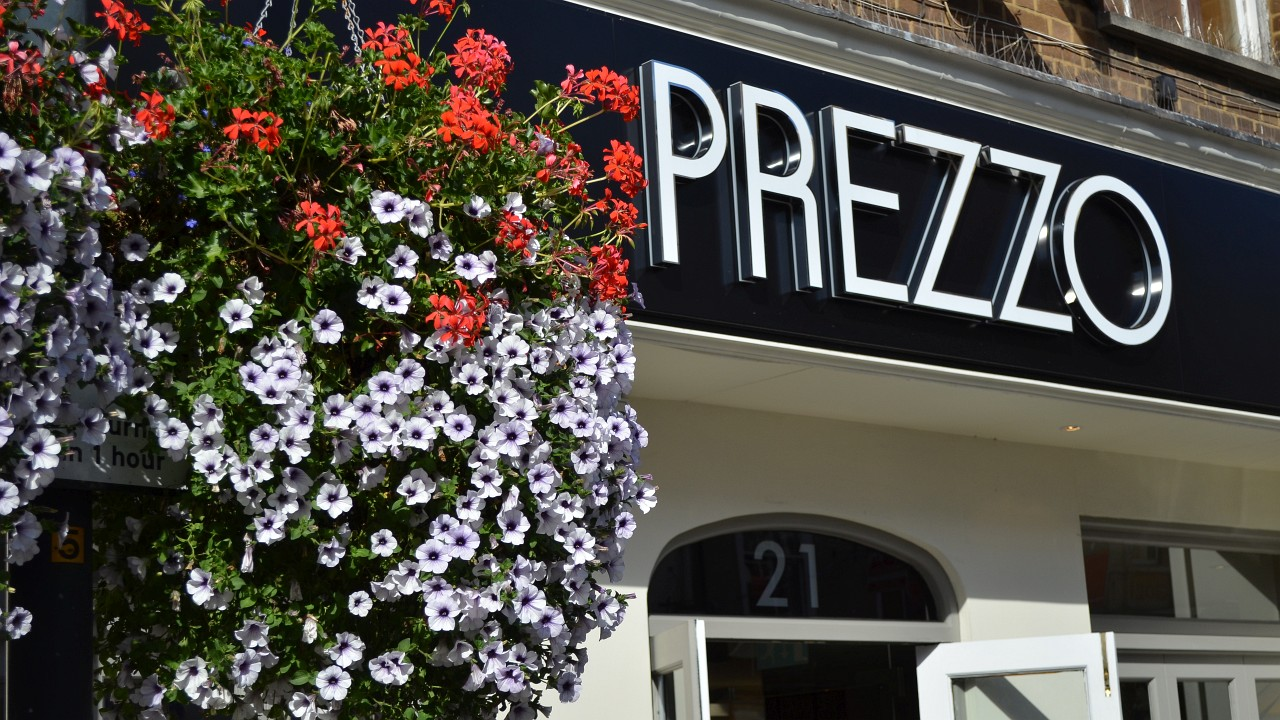 Photo of Prezzo restaurant in Fore Street, Hertford